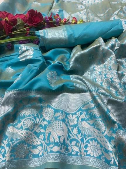 silk saree blouse designs catalogue 2020