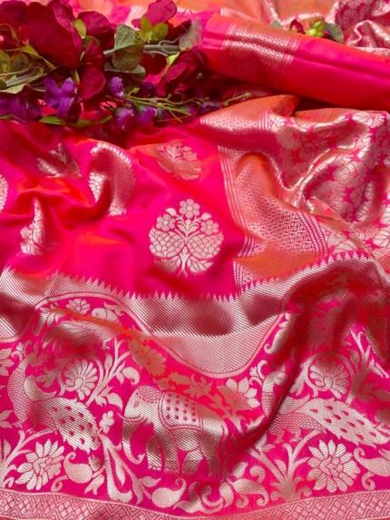 Litchi Silk Party wear Saree