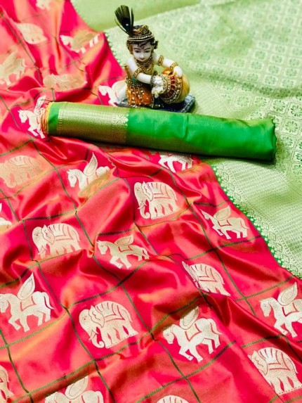 latest soft silk sarees at grabandpack