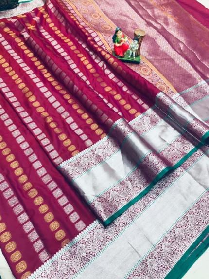 best saree in Pink coloured