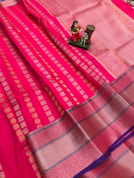 best saree in Pink coloured