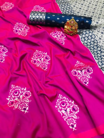 new soft silk saree design 2021