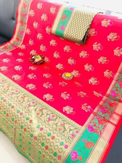 best online saree shopping sites for banarasi silk saree