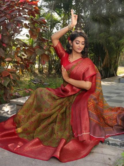 sr brand sarees from grabandpack