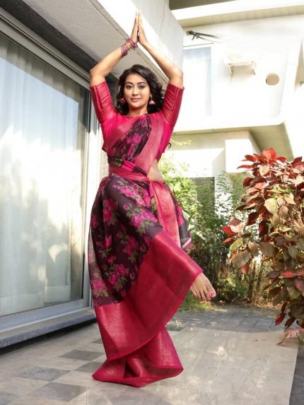 best online saree brands from grabandpack