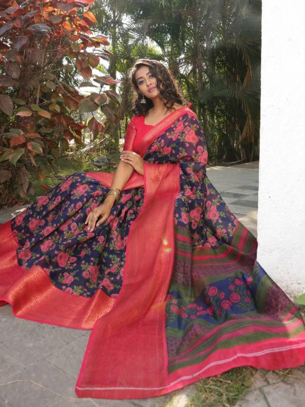online branded saree from grabandpack