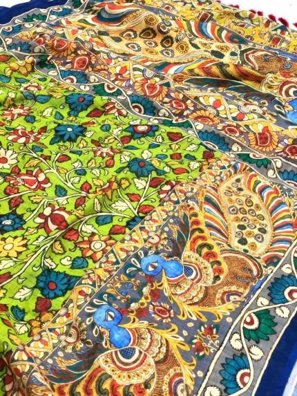 Trending Linen Printed Saree