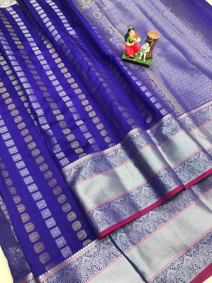 best saree in Purple coloured