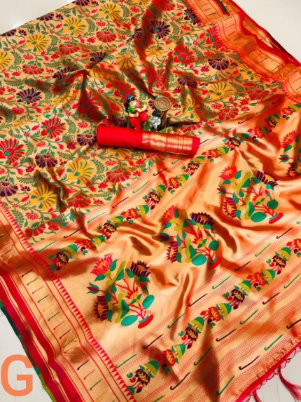 Wedding Special Pure silk Kanchipuram saree