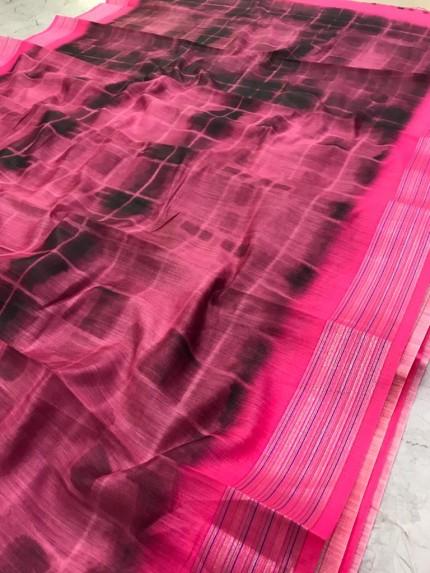 latest linen saree collection