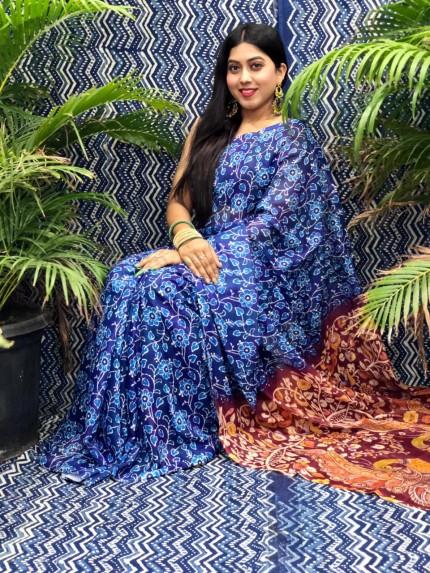 grabandpack Kalamkari sarees online
