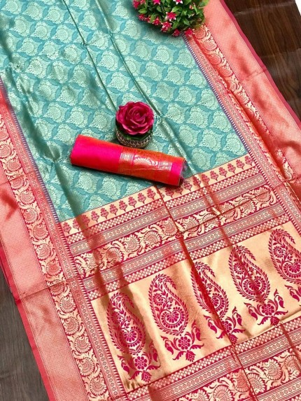 women's Party wear Kanjivaram silk saree