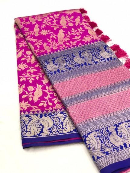 GrabandPack Kanjivaram Silk Saree