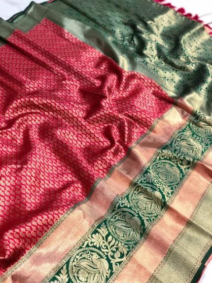 Jacquard Traditional Prepossessing Saree