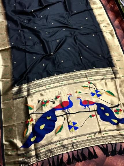 women's Soft Kanchipuram silk saree