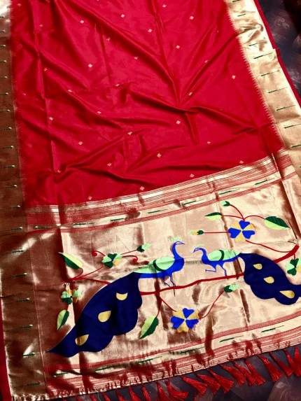 Soft Kanchipuram silk saree