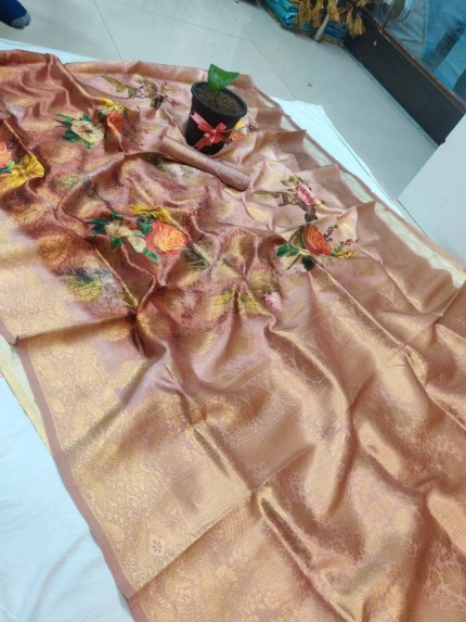 Flower printed Premium saree