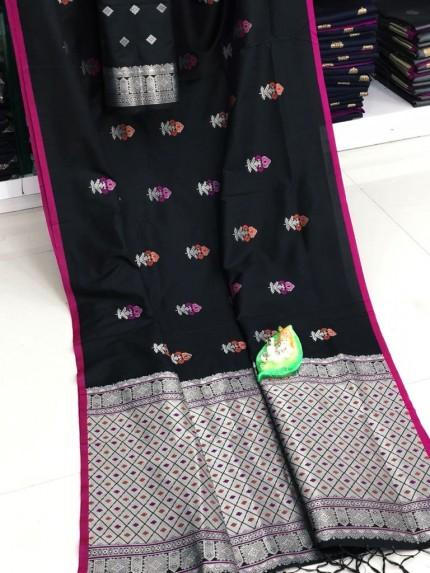 GrabandPack soft silk sarees below 1500