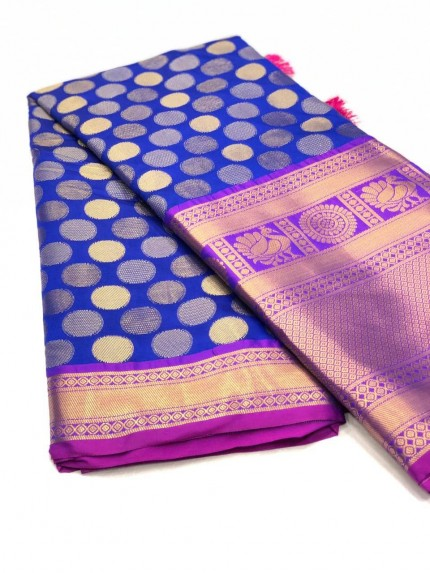 women's Traditional Kanchipuram silk saree