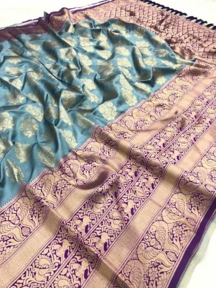 Grey color saree online india