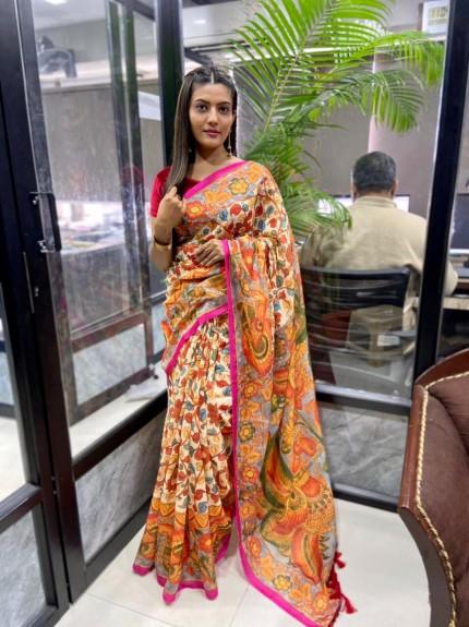 Branded saree
