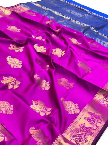 banarasi silk saree for wedding