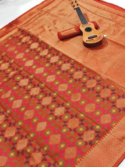 soft banarasi silk saree