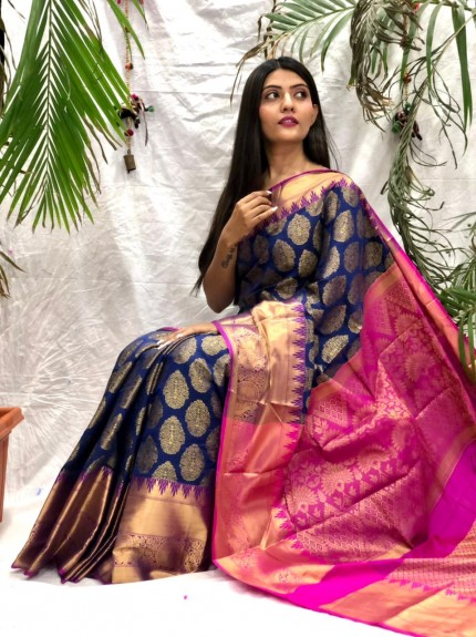 Masterpiece Kanchipuram silk saree