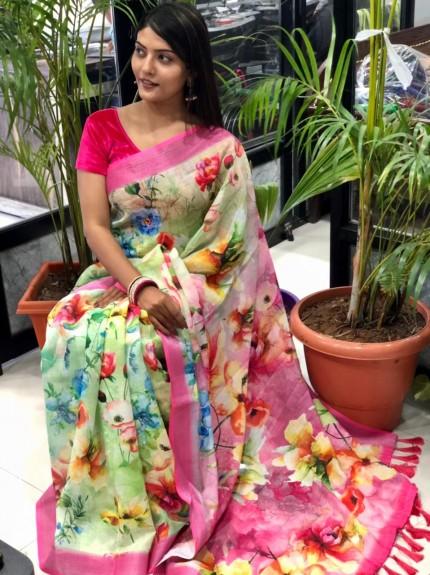 new designer Printed sarees with price