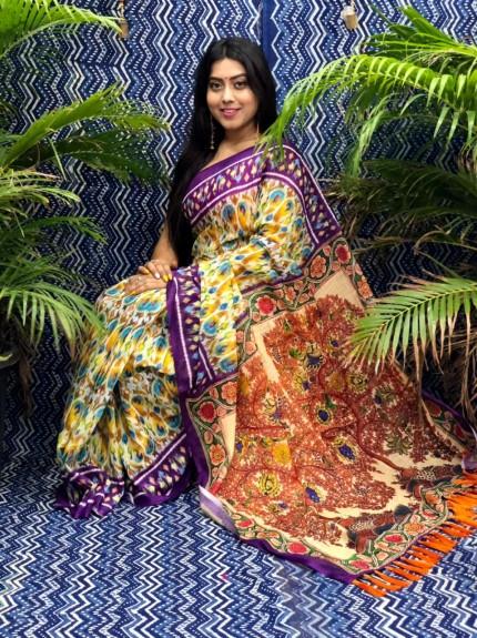 linen sarees online grabandpack