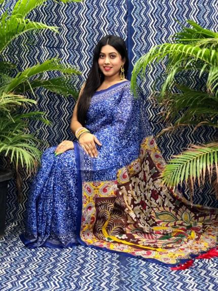 grabandpack latest designer linen sarees