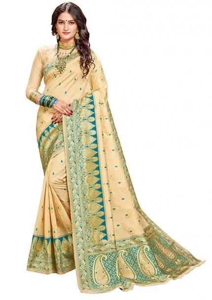 Geen Kanchipuram Silk Saree