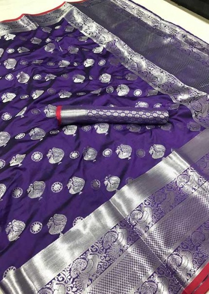womens-lichi-silk-weaving-saree-in-purple-silk-sarees-online-gnp005981-grabandpack.com